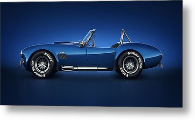 Shelby Cobra 427 - Water Snake Metal Print by Marc Orphanos