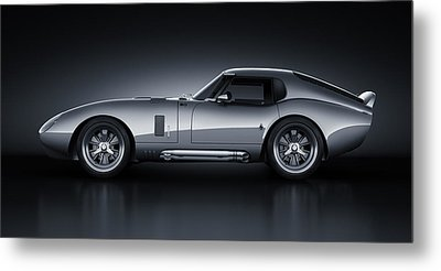 Shelby Daytona - Bullet Metal Print by Marc Orphanos