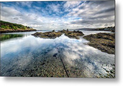 Sheltered Bay Metal Print by Adrian Evans