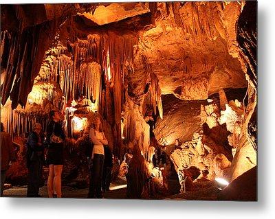 Shenandoah Caverns - 121261 Metal Print by DC Photographer