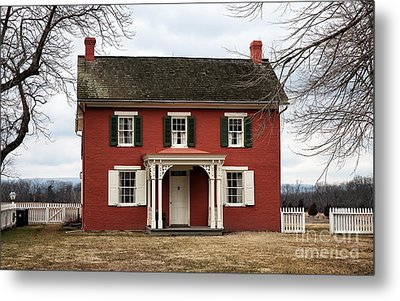 Sherfy House Metal Print by John Rizzuto