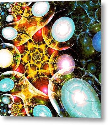 Shining Colors Metal Print by Anastasiya Malakhova