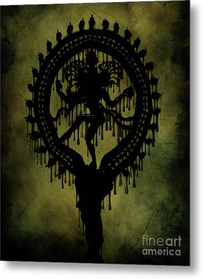 Shiva Metal Print by Cinema Photography