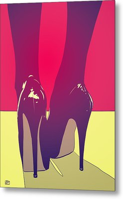 Shoes Metal Print by Giuseppe Cristiano