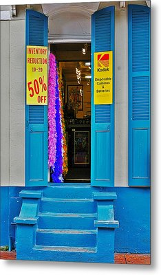Shop New Orleans Metal Print by Christine Till