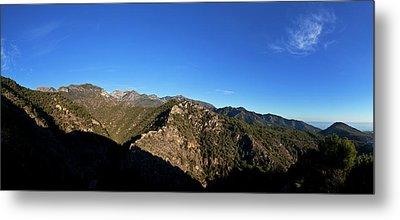 Sierra De Enmedia Mountains,north East Metal Print by Panoramic Images