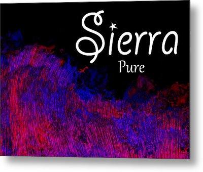 Sierra - Pure Metal Print by Christopher Gaston