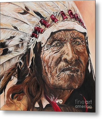 Signs Of His Times Metal Print by Annalise Kucan