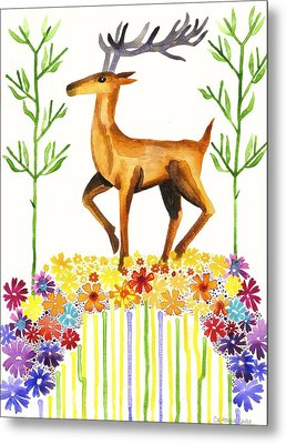 Signs Of Spring Metal Print by Cat Athena Louise