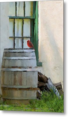 Signs Of Spring Metal Print by Ron Jones