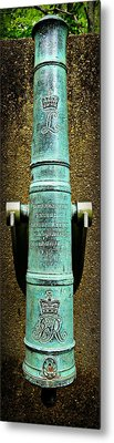 Silenced -- Surrendered British Cannon Metal Print by Stephen Stookey