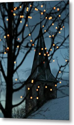 Silent Night Metal Print by Odd Jeppesen