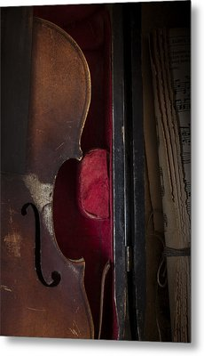 Silent Sonata Metal Print by Amy Weiss
