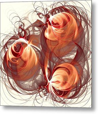 Silk Labyrinth Metal Print by Anastasiya Malakhova