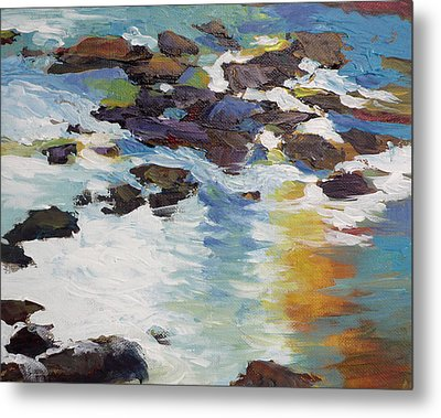 Silver Creek No. 5 Metal Print by Melody Cleary