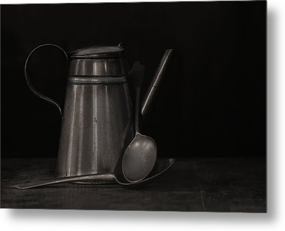 Simple Essentials Metal Print by Robin-lee Vieira