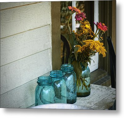 Simple Life 1 Metal Print by Julie Palencia