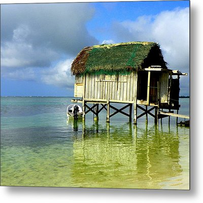 Simple Solitude Metal Print by Karen Wiles