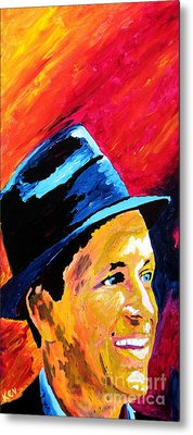 Sinatra My Way Metal Print by Kevin Rogerson