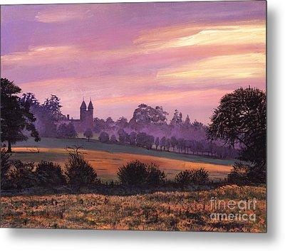Sissinghurst Castle Sunset Metal Print by David Lloyd Glover