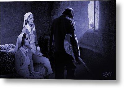 Sisters Of Mercy Metal Print by IM Spadecaller