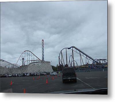 Six Flags Magic Mountain - 12121 Metal Print by DC Photographer