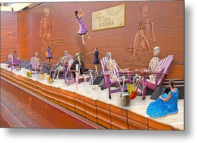 Skeleton Keys Metal Print by Betsy Knapp