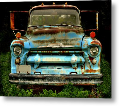 Sky Blue And Still Cool Metal Print by Thomas Young