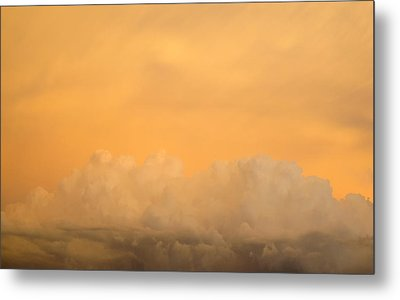 Sky Fire 004 Metal Print by Tony Grider