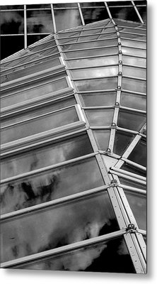 Sky Reflected Metal Print by Arkady Kunysz