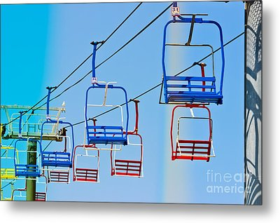 Sky Ride #34 Metal Print by Colleen Kammerer