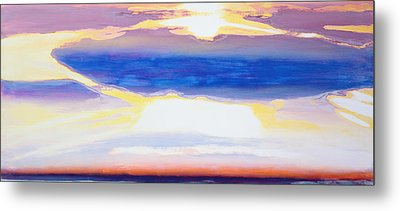 Skyscape Metal Print by Lou Gibbs