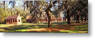 Slave Quarters, Boone Hall Plantation Metal Print by Panoramic Images