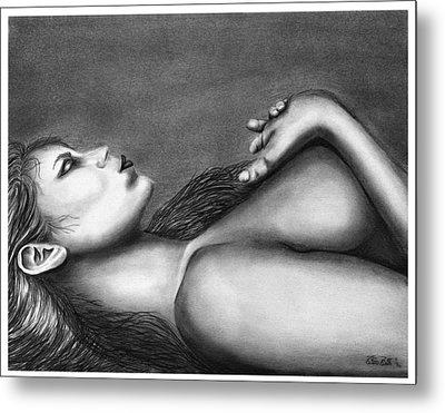 Sleeping Beauty  Metal Print by Peter Piatt