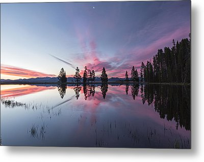 Slide Into The Day Metal Print by Jon Glaser