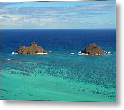 Small Islands Metal Print by Laura Watts