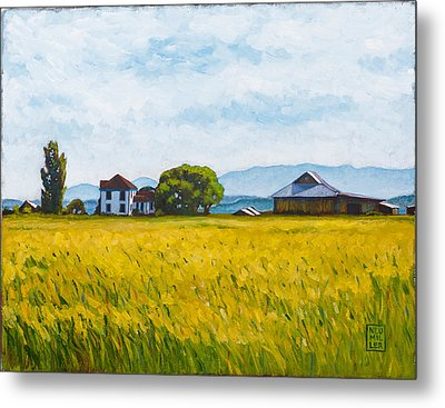 Smith Farm Metal Print by Stacey Neumiller