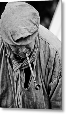 Smoke II  Metal Print by Off The Beaten Path Photography - Andrew Alexander