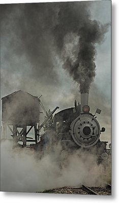 Smokin Engine 353 Metal Print by Paul Freidlund