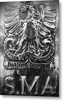 Snail Mail Metal Print by James Aiken