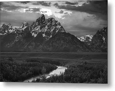 Snake River In The Tetons Metal Print by Andrew Soundarajan
