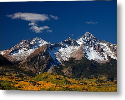 Sneffels Clearing  Metal Print by Darren  White