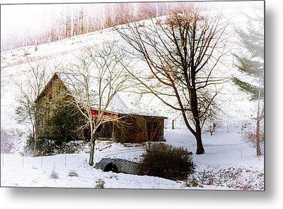 Snow Blanket Metal Print by Karen Wiles