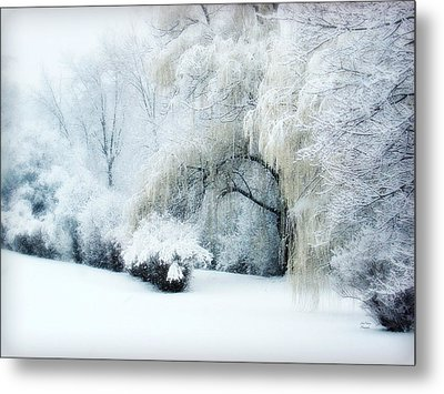 Snow Dream Metal Print by Julie Palencia