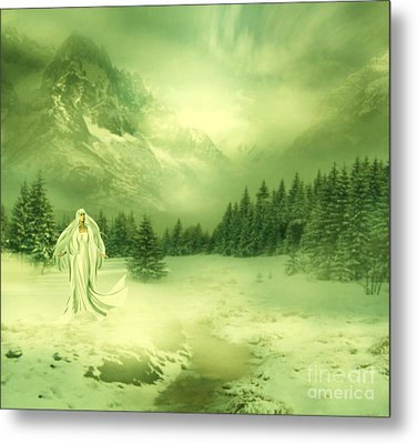 Snow Queen Metal Print by Ester  Rogers