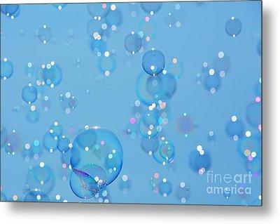 Soap Bubbles Metal Print by Jane Rix