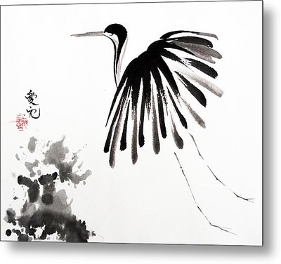 Soaring High Metal Print by Oiyee  At Oystudio