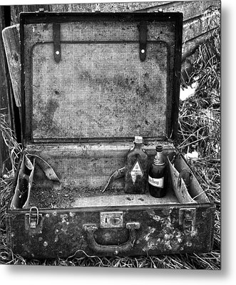 Sober Travels  Metal Print by JC Photography and Art