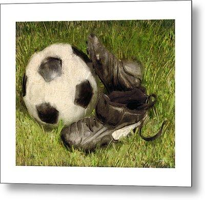 Soccer Practice Metal Print by Craig Tinder