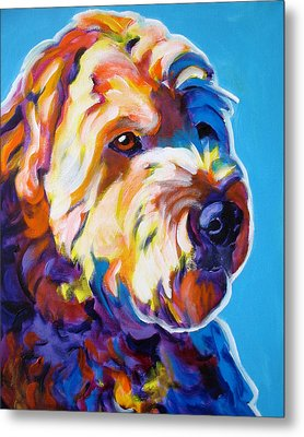 Soft Coated Wheaten Terrier - Max Metal Print by Alicia VanNoy Call